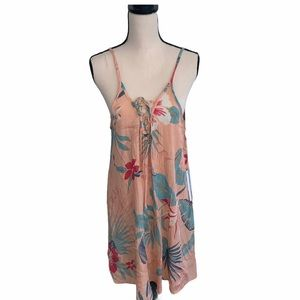 NWT Lagaci Floral Palm Dress